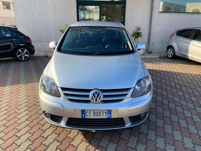 volkswagen golf-plus 1-9-tdi-comfortline-perfetta-pochi-km grigio
