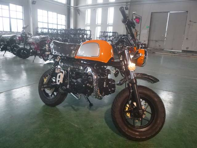 skyteam gorilla-125 club-s-injection-de-luxe-euro-4-modell-2019 orange