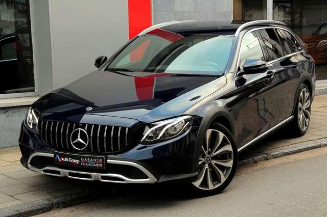 mercedes-benz e-220 d-4-matic-all-terrain-garantie-1an-full-option bleu