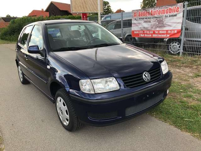 volkswagen polo-sedan basis-iii-6n2-1-hand-tuev06-2021 bleu