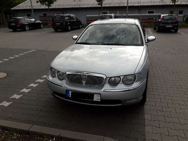 rover 75 classic silber