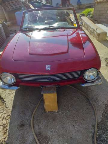 fiat others fiat-1200-osi-spider rosso