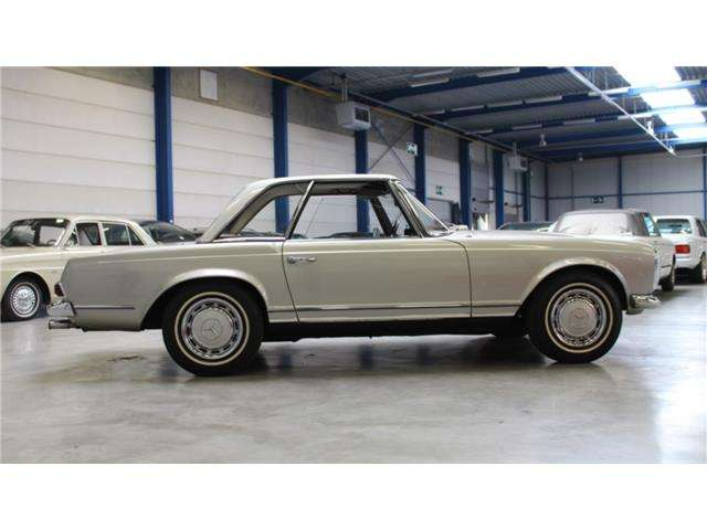 mercedes-benz 280 280-sl-roadster grau