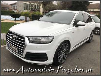 Audi Q7 SQ7-Look-2 x S Line-Luft-Panorama-22 Zoll-Bose!