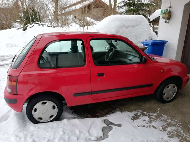 nissan micra super-s red