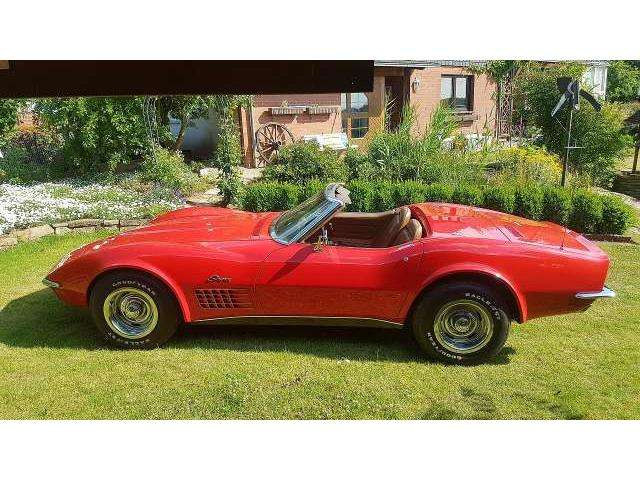 corvette c3 cabrio in rot oldtimer in osnabr ck f r. Black Bedroom Furniture Sets. Home Design Ideas