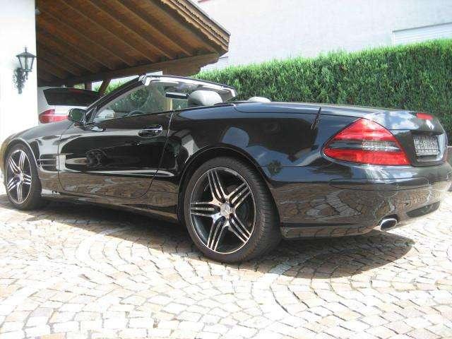 mercedes benz sl 350 cabrio in schwarz als gebrauchtwagen in m nchen f r. Black Bedroom Furniture Sets. Home Design Ideas