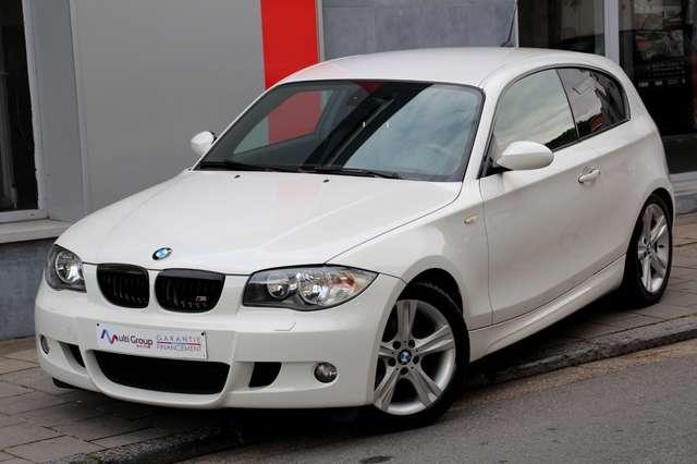bmw 116 d-coupe-pack-m-garantie-1an-full-opton-sport blanc