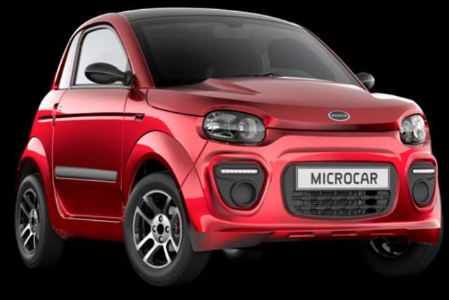 microcar due plus-new-model-2020 rojo