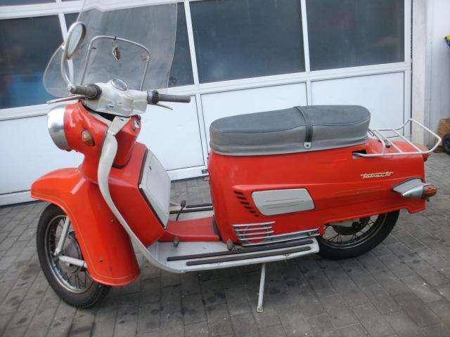 Verbazingwekkend Jawa Tatran Roller Roller/Scooter in Rot Oldtimer in Calau für NS-77