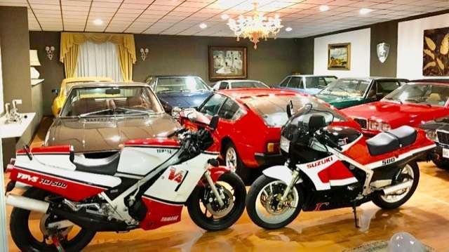 suzuki rg-500 2-tempi-pari-al-nuovo-da-collezione piros