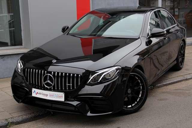 mercedes-benz e-200 d-amg-bt-auto-garantie-1an-hud-gps-individuel noir