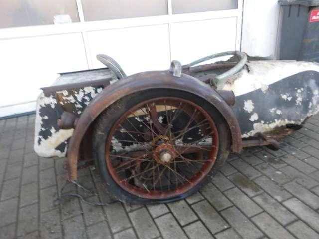 nsu 501-t beiwagen silber