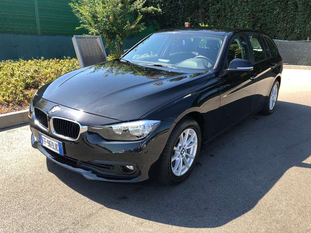 bmw 318 d-touring-business-advantage-aut-euro-6-150cv nero