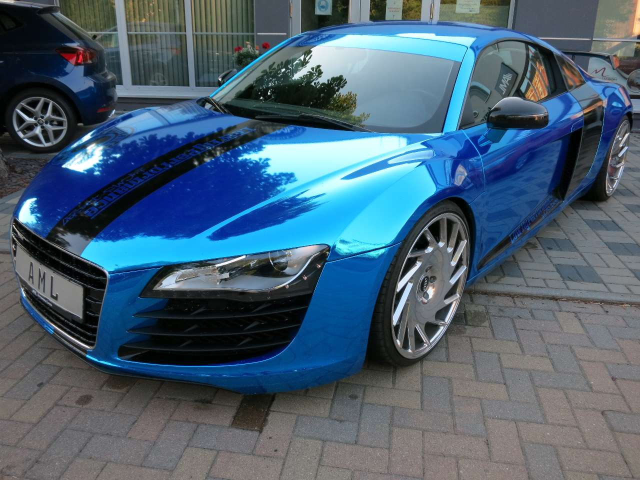 "Audi R8 4.2 FSI quattro HTS Sportauspuff 20"" VOSSEN ALU"