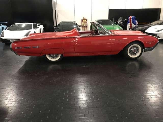 ford thunderbird cabrio-perfetta-asi rosso