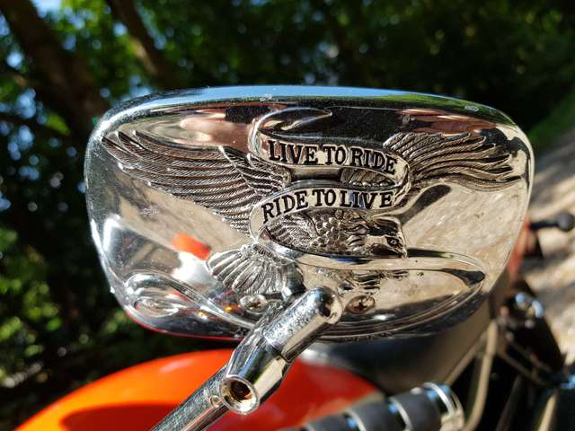harley-davidson vrsc-street-rod orange