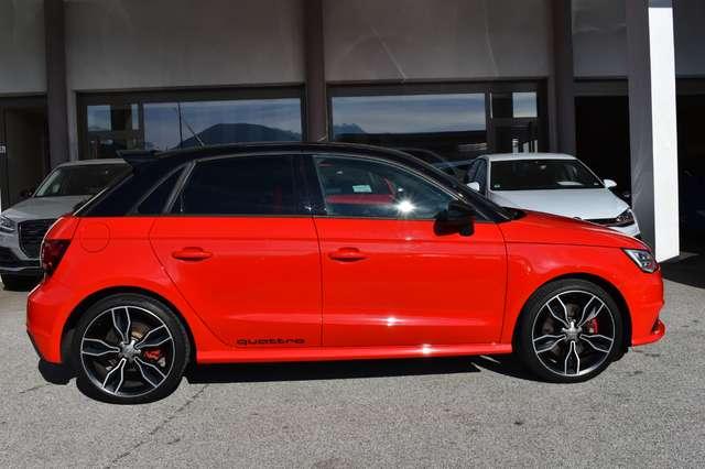 audi s1 sportback-full-optional rosso