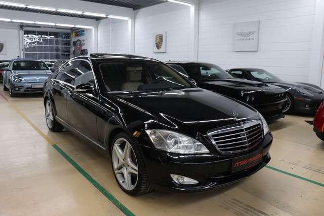 mercedes-benz s-500 4matic-aut-designo-vollvoll schwarz