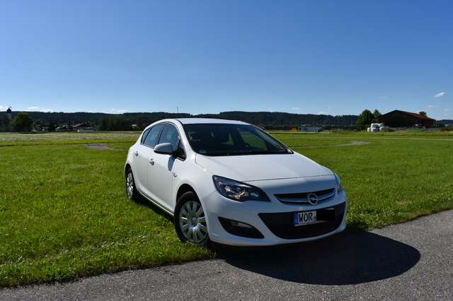 opel astra 1-6-selection weiss