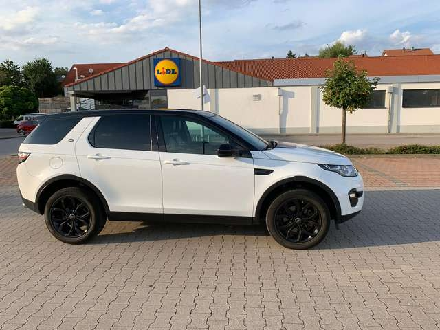 land-rover discovery-sport td4-aut-hse weiss