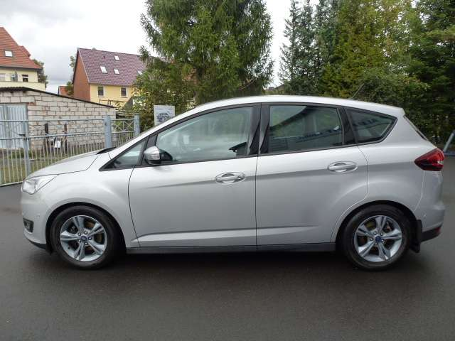 ford c-max cool-connect-navi-winterpaket-tempomat silber