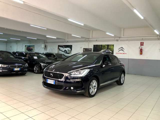 citroen ds5 thp-165cv-aut-eat6-e6-so-chic-navi-tetto-pano-led blauw