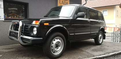 Lada 4x4 4 Türig Fiskal LKW - 2 Sitze