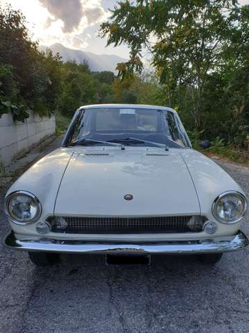 fiat 124-coupe bianco