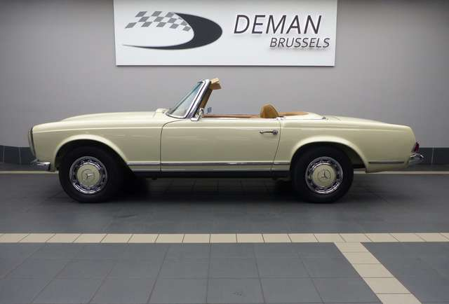 mercedes-benz sl-280 r113-matching-n-hard-top-mint-state beige