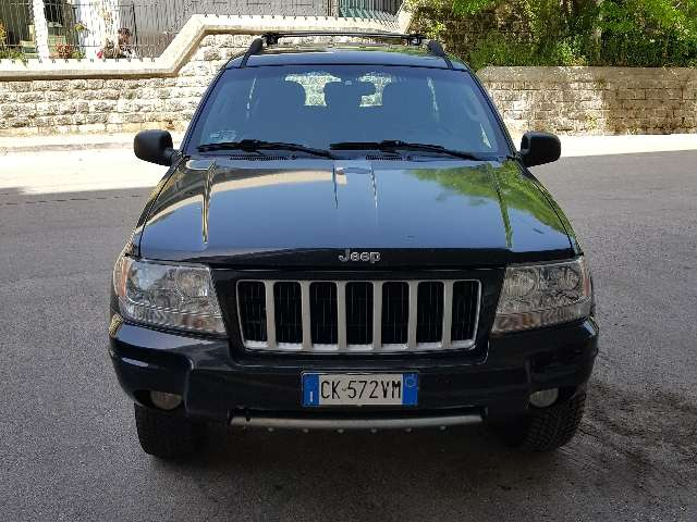 jeep grand-cherokee 2-7-crd-cat-limited nero
