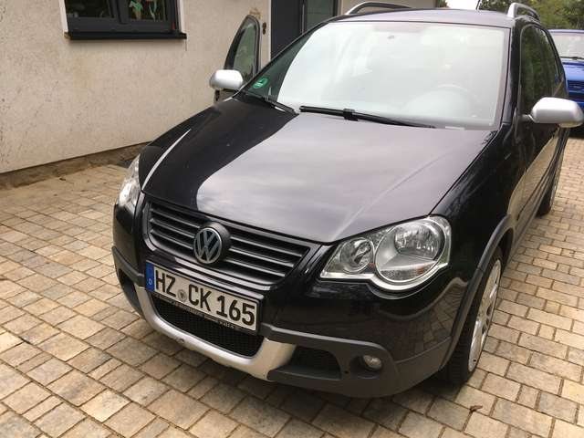 volkswagen polo-cross 1-4 nero