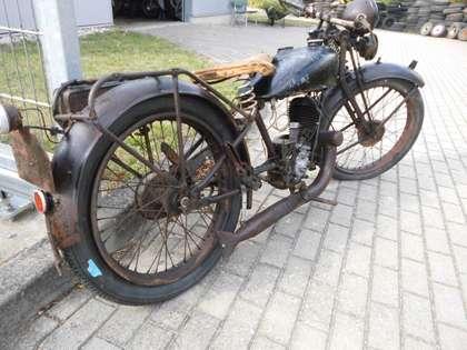 Zündapp Z 200 Schwarz
