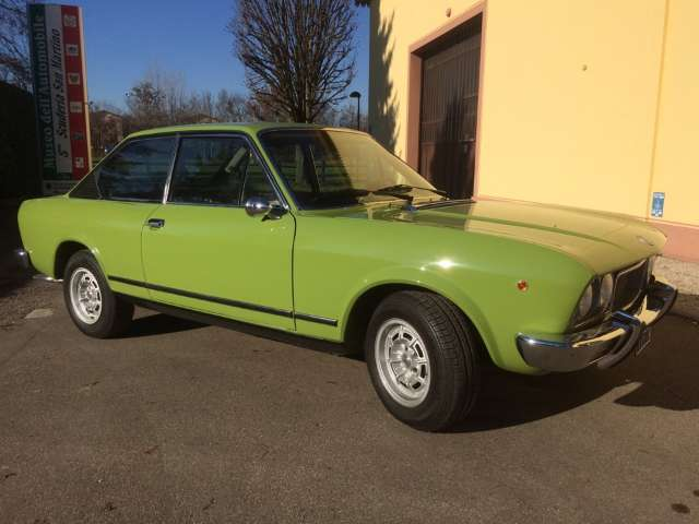 fiat 124-coupe verde