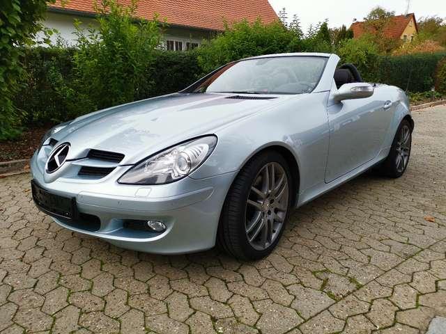 mercedes-benz slk-280 roadster-sondermodell-amg-sport-edition silber