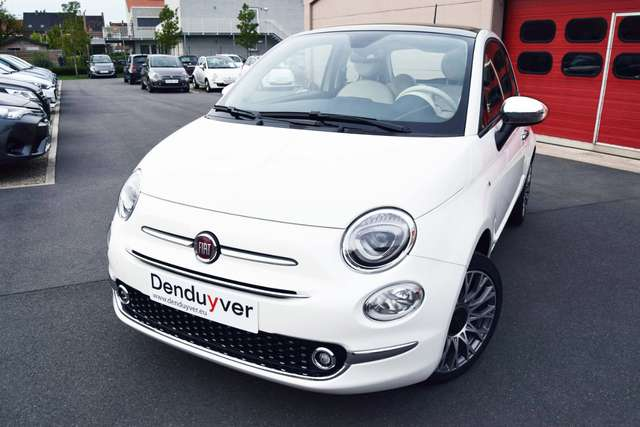 fiat 500 1-2-lounge-apple-android-navi-7-pdc-tft-coyote bianco