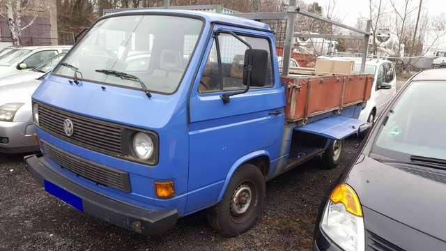 volkswagen t3 pritsche-westfalia-3-sitze-ahk blau