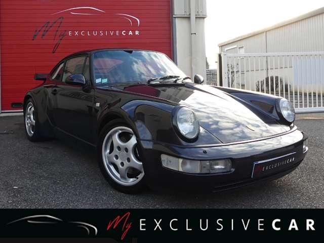 porsche 964 965-3-3-turbo-francaise-matching-numb-expert noir