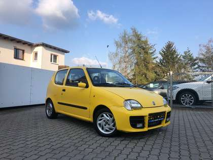 Fiat Seicento Sporting 187 Gelb