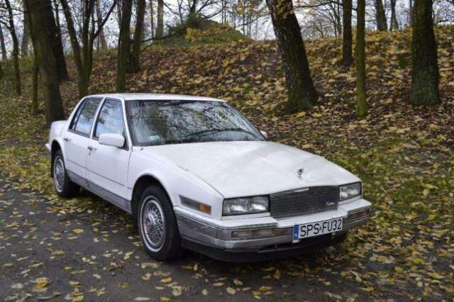 cadillac seville weiss
