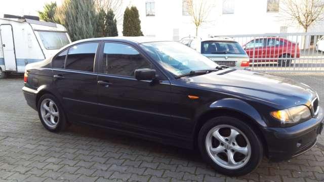 bmw 318 3er-318i-limo-facelift-klimaautomatik schwarz