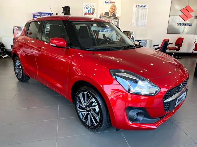 suzuki swift restyling-top-1-2-83cv-4wd-hybrid rosso