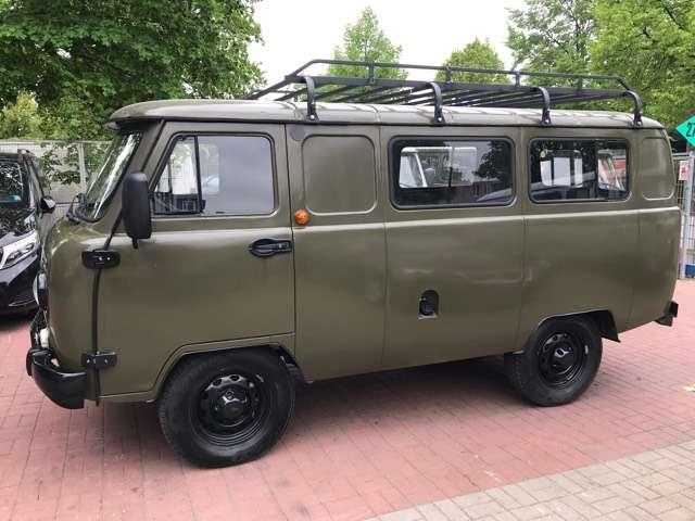 uaz buchanka 2206-allrad-4x4-euro6-deutsche-zul-servo-abs-tisch green