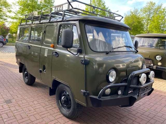 uaz buchanka allrad-4x4-offroad-2-7-euro-6-lpg-deutsche-zul-ser green