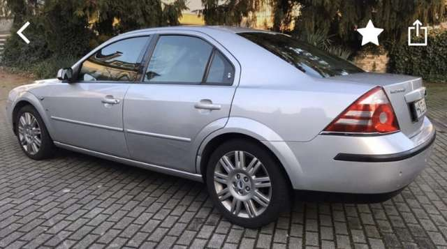 ford mondeo 2-5-v6-trend silber