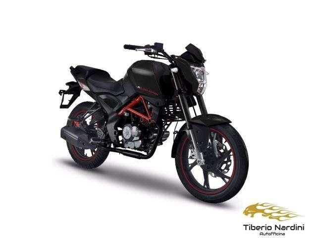 ksr-moto grs-125 black-edition nero