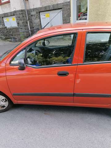 chevrolet matiz 0-8-s orange