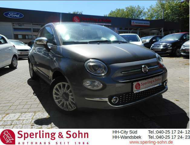 fiat 500c 1-2-8v-lounge-mit-android-apple-car-play grau