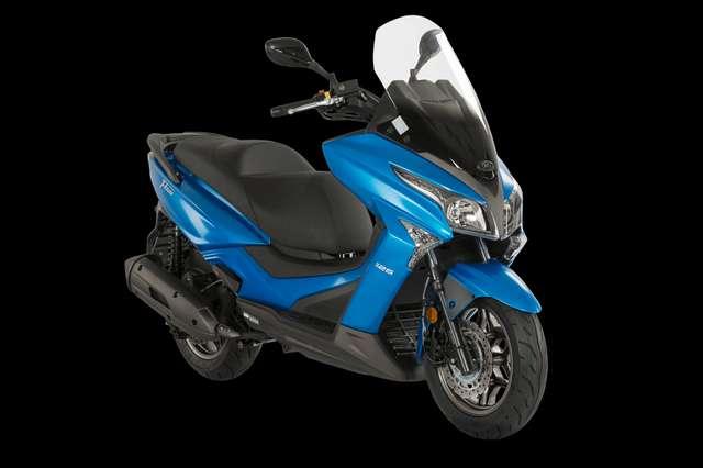 kymco x-town 125i-abs blu-azzurro