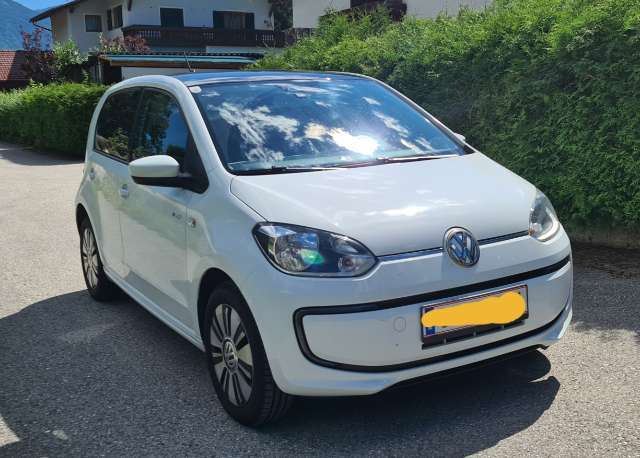 volkswagen up vw-e-up blanc